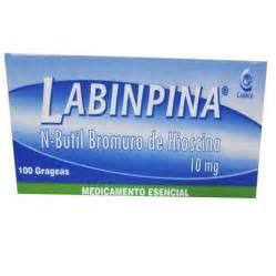 HIOSCINA BUTIL 10 MG X 100 TAB LABIMPINA