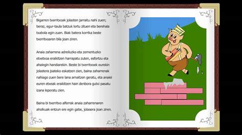 Hiru txerritxoak, Cuentos clásicos infantiles en euskera ...