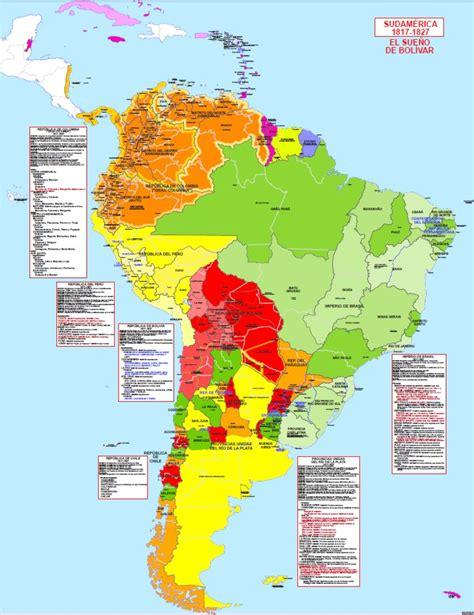 Hisatlas - Mapa de Suramérica 1827
