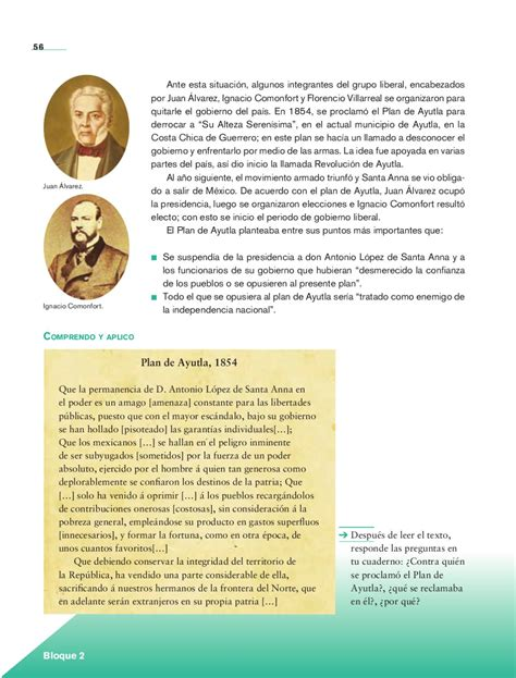 Historia 5to. Grado by Rarámuri (page 56) - issuu