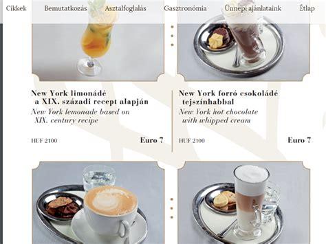 História com Gosto: Café New York, Budapeste - Um dos mais ...