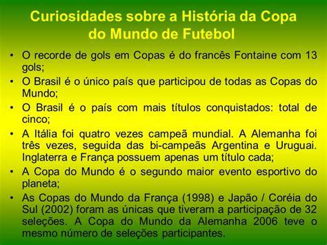 HISTÓRIA DA COPA DO MUNDO.   ppt video online carregar