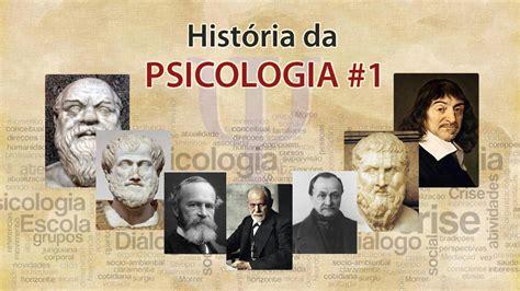 História da PSICOLOGIA #1 - YouTube