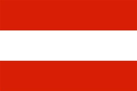 Historia de la bandera de Austria