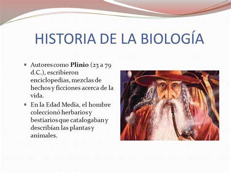 HISTORIA DE LA BIOLOGÍA   ppt video online descargar