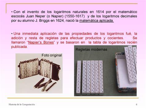 Historia de la computación y de las máquinas de calcular ...