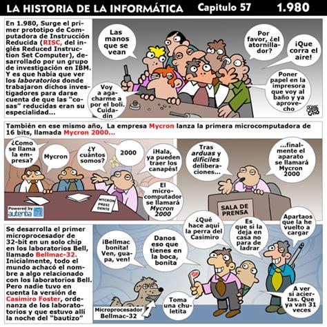 Historia de la informática. Capítulo 57. 1980 ...