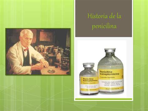 Historia de la penicilina