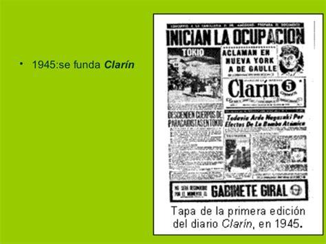 Historia de la prensa escrita argentina