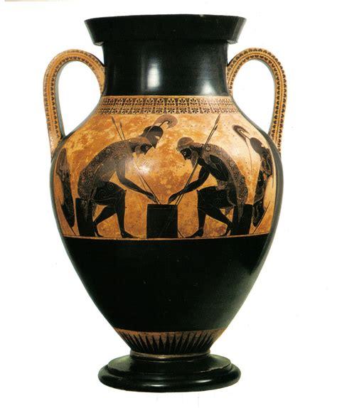 Historia de las Artes Plásticas I: Aquiles y Ajax jugando