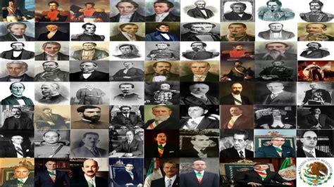 Historia de los presidentes de México y Toma de Posesión a ...