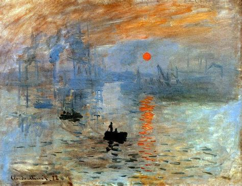 Historia del Arte: Impresión del Sol Naciente  Monet