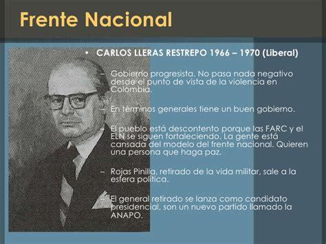 Historia del conflicto en colombia