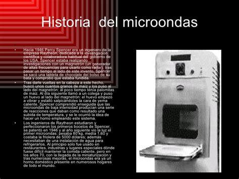 Historia del microondas