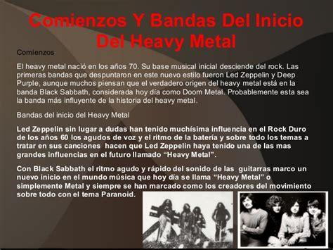 Historia Heavy Metal