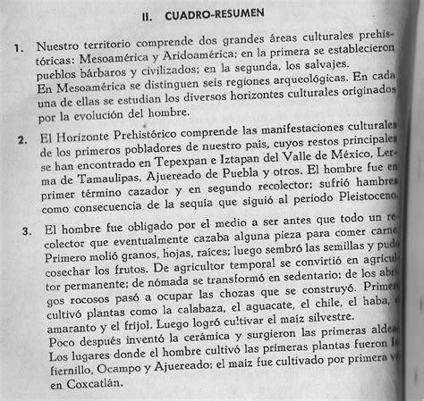Historia México Resumen