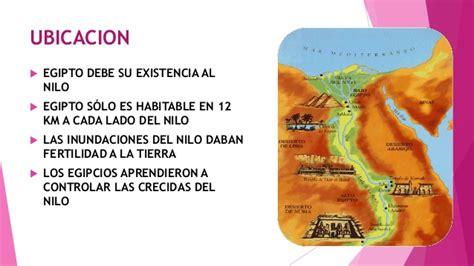 Historia mundial 1- Ubicación geográfica de Egipto