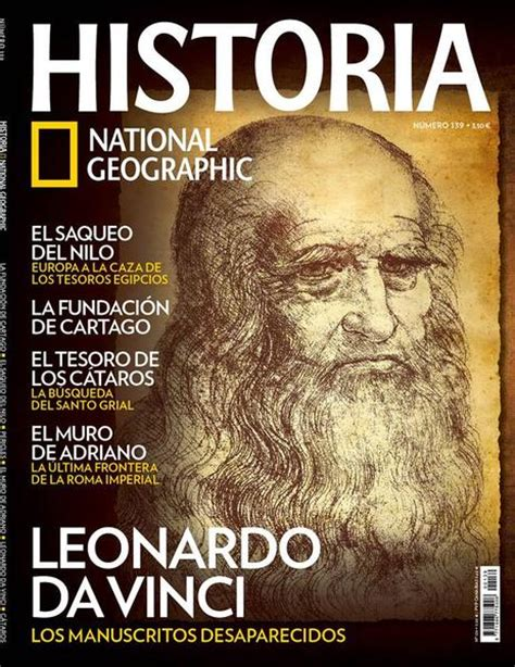 Historia National Geographic Julio 2015 / PDF / Leonardo ...