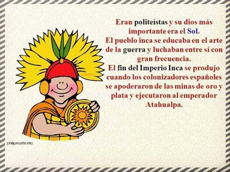 Historia para niños 11   El Imperio Inca | Maunualidades ...