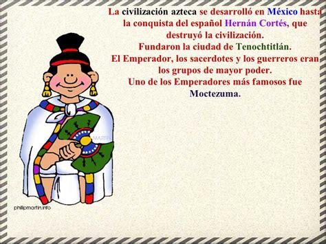 HISTORIA PARA NIÑOS 9: CIVILIZACIÓN AZTECA - ppt video ...