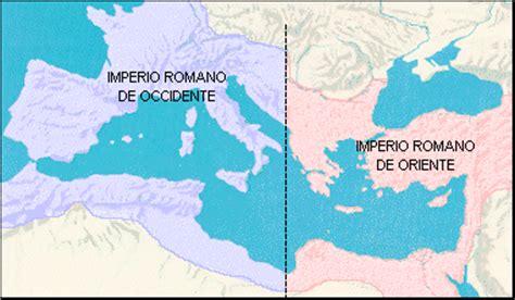 historia universal: division imperio romano oriente y ...