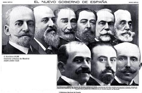 Historia Urbana de Madrid: Nuevo Gobierno de España ...