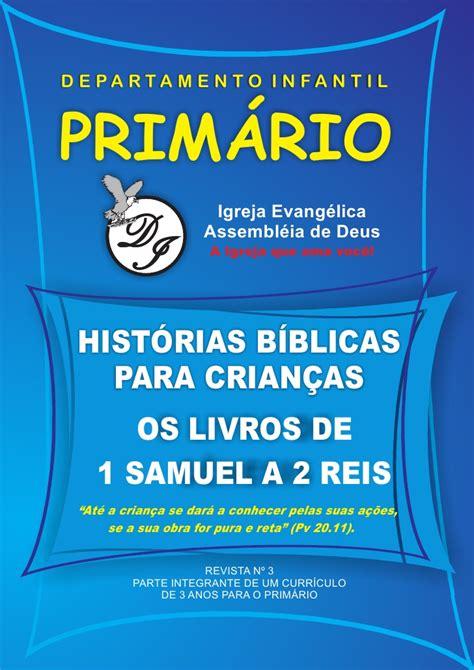 Histórias Bíblias para Crianças - Os Livros de 1 Samuel a ...