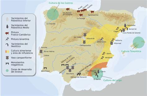 historiatotal: Mapas de Historia de España. Paleolítico ...