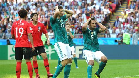 Histórica eliminación de Alemania ante Corea del Sur ...