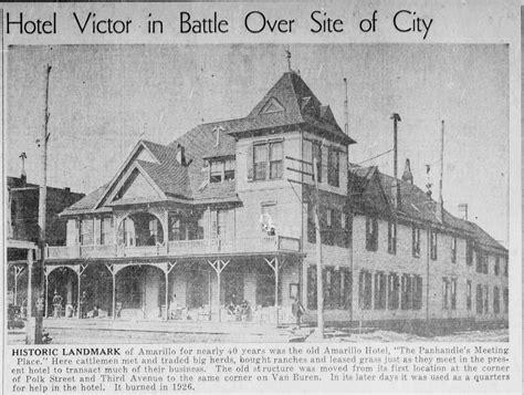 History of Amarillo, Texas: Old Amarillo Hotel