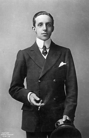 HM King Alfonso XIII of Spain   Henry Poole & Co Henry Poole