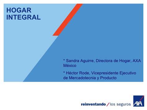 Hogar Integral - Seguros AXA