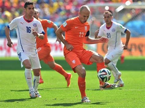 Holanda 2 Chile 0. Mundial Brasil Grupo B   Liga Española ...