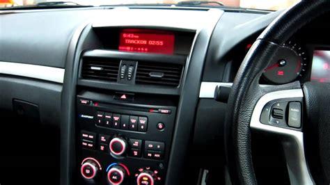 Holden Commodore VE series 1 Ute   Audio upgrade   YouTube