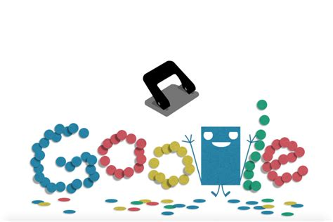 Hole Punch History Celebrated With Google Doodle | Time