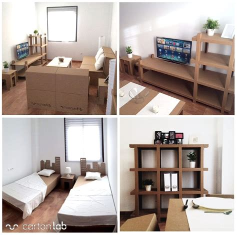 Home Staging. Muebles de carton | Cardboard furniture ...