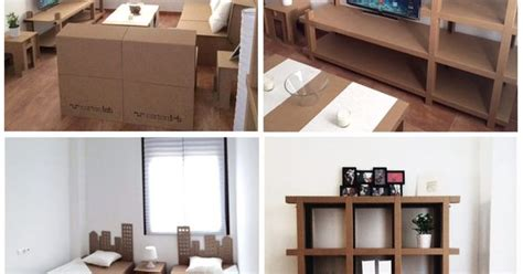 Home Staging. Muebles de carton   Cardboard furniture ...
