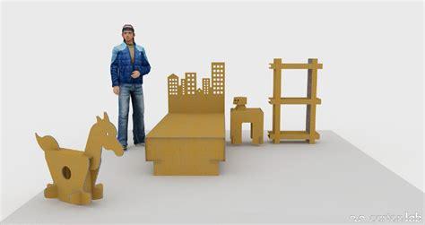 Home Staging. Muebles de carton