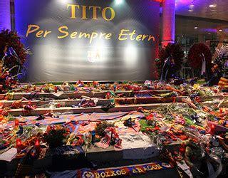 Homenatge a Tito Vilanova / FOTO: MIGUEL RUIZ - FCB