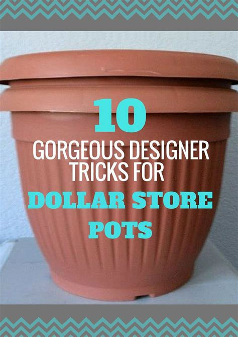 Hometalk | How to upcycle Cheap Flower Pots