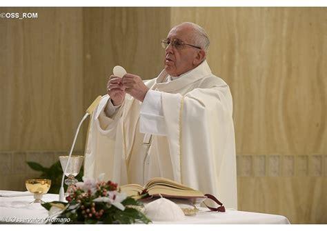 Homilía del Papa Francisco en Santa Marta, jueves 28 de ...