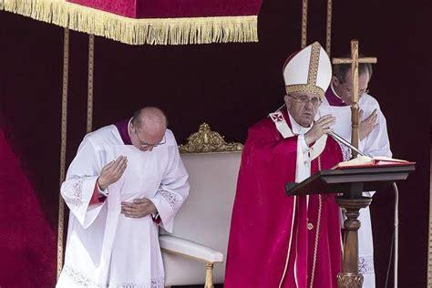Homilía del Papa Francisco, Misa del Domingo de Ramos, 13 ...
