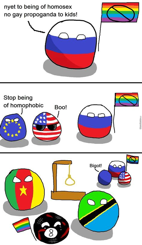 Homophobic Countries by bloatarder   Meme Center