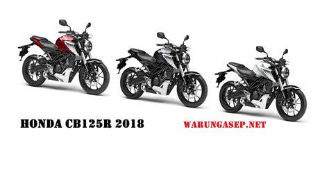 honda cb125r 2018   WARUNGASEP