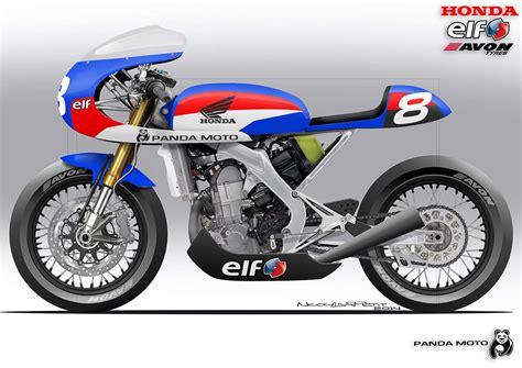 Honda CRF450R da motocross a cafè racer