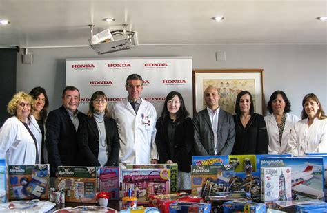 Honda reparte ilusión a los niños del Hospital de Granollers