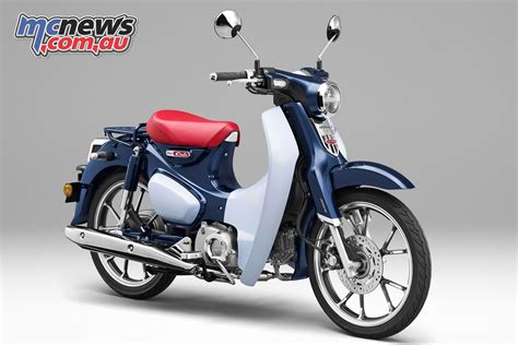 Honda Super Cub 110 commemorative edition concept | MCNews ...
