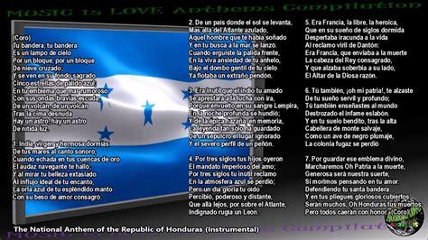 Honduras National Anthem