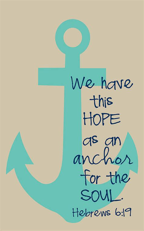 Hope Is An Anchor by Nancy Ingersoll