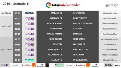 Hora partidos La Liga y dónde los televisan